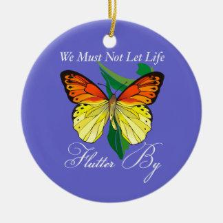 Flutter By Butterfly Ornament