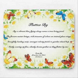 Flutter By Poem Mouse Pad