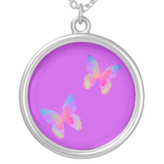 Flutter-Byes (vibrant violet) necklace