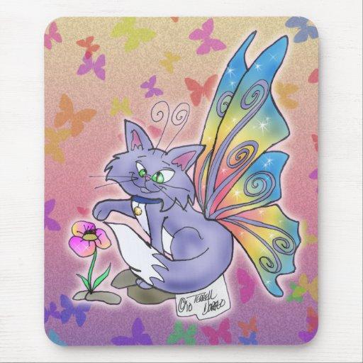 """""""Flutter Cat"""" Mousepad"""
