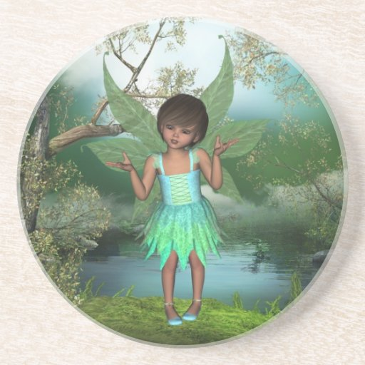 Flutter Fairy Pixie Dust Coaster