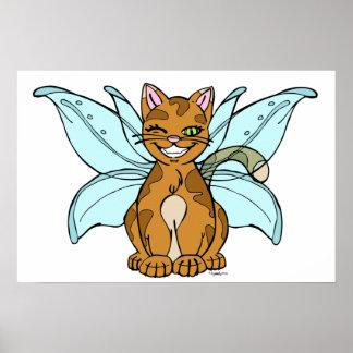 Flutter Kitty Poster
