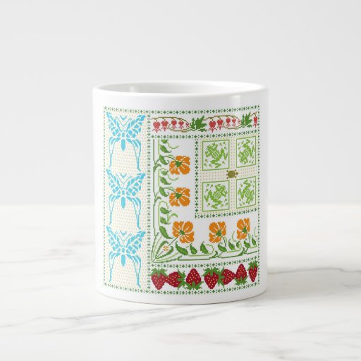 Flutter on By 20 Oz Large Ceramic Coffee Mug