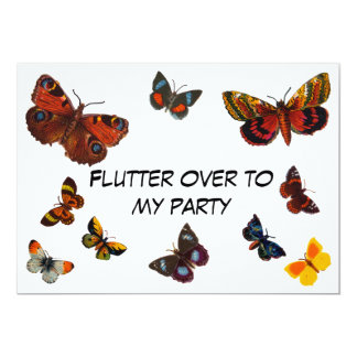 flutter over to my party invite