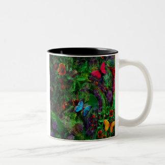 Flutter Two-Tone Coffee Mug