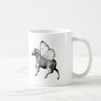 Flutter Zebra Classic White Coffee Mug