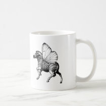 zebra,wings,strypes,stripes,butterfly, Mug with custom graphic design