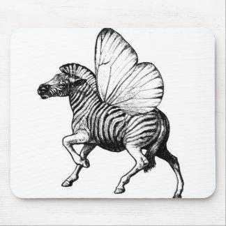 Flutter Zebra Mouse Pad