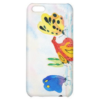 Flutterbies iPhone 5C Covers