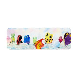 Flutterbies Label