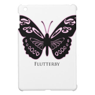 Flutterby Black Pink Glow Cover For The iPad Mini