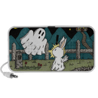 Flutterby Bunny Ghost Speakers