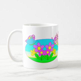Flutterby Butterfly Coffee Mug