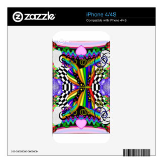 Flutterby Calcomanías Para iPhone 4S