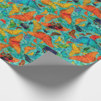 Flutterby Everyday Butterflies Wrapping Paper