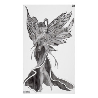 Flutterby Fae Canvas Print