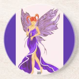 Flutterby Fae (Damson ) Coaster