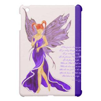 Flutterby Fae Damson iPad case