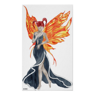 Flutterby Fae (Faery fall twin2) Canvas Print