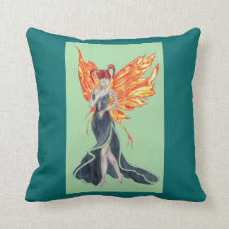 Flutterby Fae Fall-twin (2) Throw Pillows
