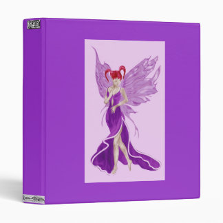 Flutterby Fae (Grape) Binder