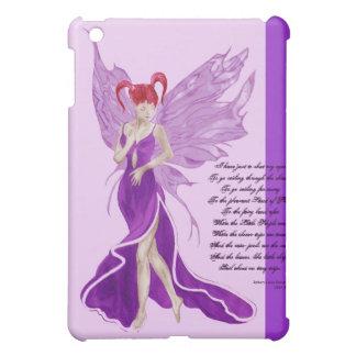 Flutterby Fae Grape iPad case