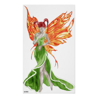 Flutterby Fae (Ivy) Canvas Print