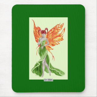 Flutterby Fae (Ivy) Mousemat Mouse Pad