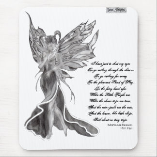 Flutterby Fae Mouse Mat Mouse Pad