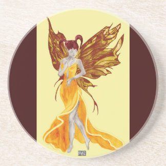 Flutterby Fae (Sunbeam) Coaster