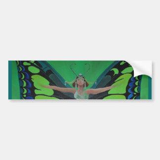 Flutterby Fairy Car Bumper Sticker
