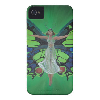 Flutterby Fairy Case-Mate iPhone 4 Cases