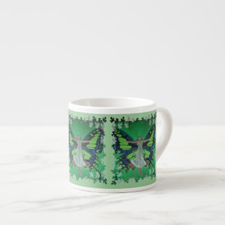 Flutterby Fairy Espresso Cup
