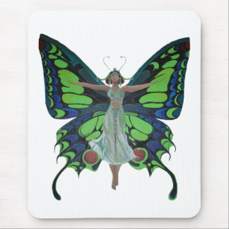 Flutterby Fairy Mouse Pad