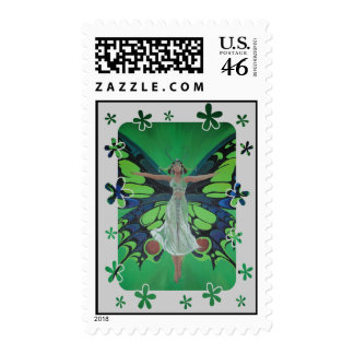 Flutterby Fairy Stamp