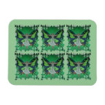 Flutterby Fairy Rectangle Magnets