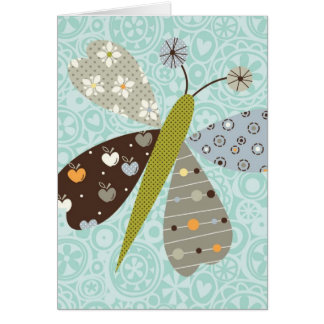 Flutterby note card