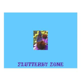 Flutterby postcard