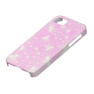 Flutterbyes rosado iPhone 5 protector
