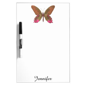 Fluttering Butterflies Dry-Erase Board