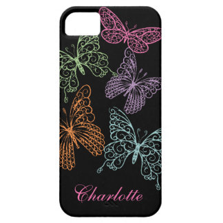 Fluttering Butterflies iPhone 5Case-Mate Barely iPhone SE/5/5s Case