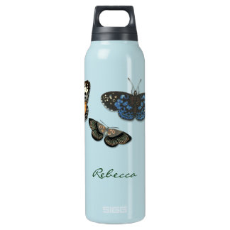 Fluttering Butterflies Liberty Bottle 16 Oz Insulated SIGG Thermos Water Bottle