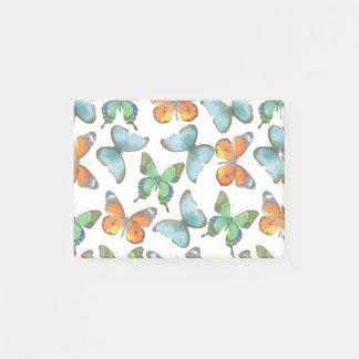 Fluttering Butterflies Post-it Notes