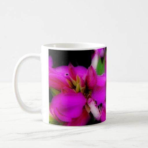 Fluttering Fushia Coffee Mugs