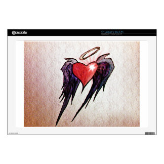 Fluttering Heart Laptop Skins