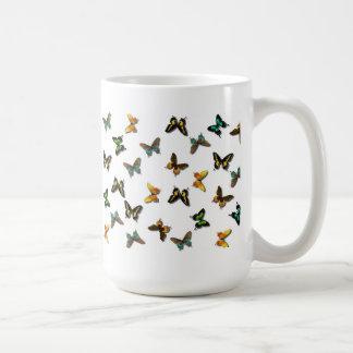Fluttering Summer Butterflies Coffee Mug