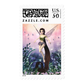 Fluttering Through the Meadows Postage