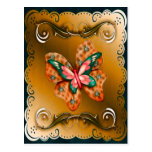 Flutterings Butterfly Bordered Postcards