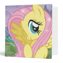 Fluttershy 3 Ring Binder