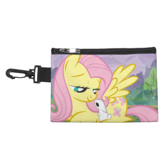 Fluttershy and Angel Accessories Bags